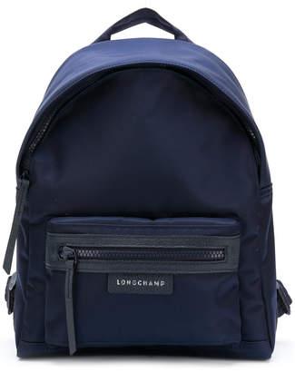 Longchamp top zipped backpack