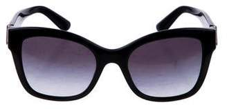Dolce & Gabbana Square Gradient Sunglasses