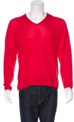 Prada Cashmere V-Neck Sweater