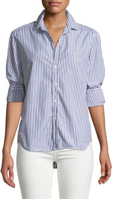 Frank And Eileen Striped Cotton Button-Down Shirt