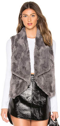 BB Dakota JACK by Big Softy Faux Fur Vest