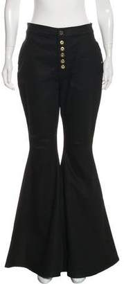 Ellery High-Rise Flared Jeans w/ Tags