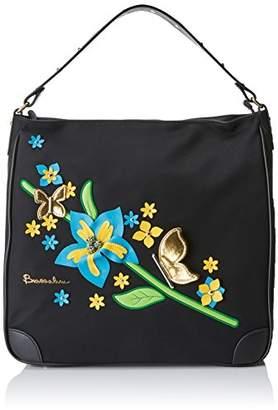 Braccialini Women's B12255 Shoulder Bag Black