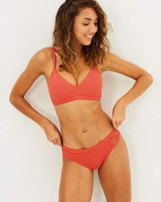 Seafolly Inka Rib Multi Strap Hipster Bikini Bottoms