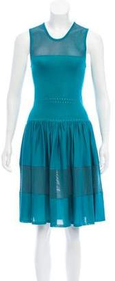 Sophie Theallet Sleeveless Silk Dress