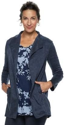 Dana Buchman Women's Everyday Casual Open Front Cardigan