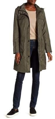 T Tahari Stowaway Hood 4-Pocket Anorak