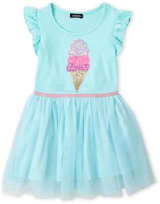 Zunie (Girls 4-6x) Ice Cream Tutu Tank Dress