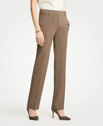 Ann Taylor The Petite Straight Leg Pant In Seasonless Stretch - Curvy Fit