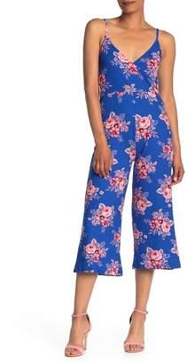 Velvet Torch Gaucho Floral Jumpsuit