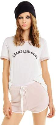 Wildfox Couture Champagne Johnny Ringer Tee   Vanilla/Quartz