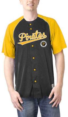 MLB Pittsburgh Pirates Men's TMC Button Down Jersey