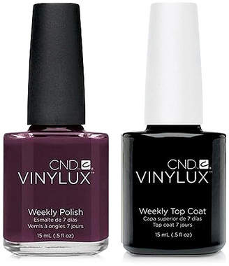 CND Creative Nail Design Vinylux Fedora Nail Polish & Top Coat (Two Items), 0.5-oz, from Purebeauty Salon & Spa