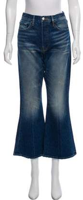 Frame High-Rise Flared Jeans w/ Tags