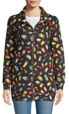 Love Moschino Graphic Full-Zip Jacket