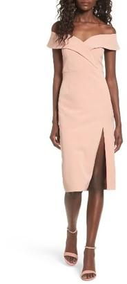 Women's Bardot Bella Midi Dress $119 thestylecure.com