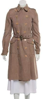 Marc by Marc Jacobs Corduroy Tench Coat
