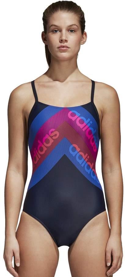 Graphic Print Pool Swimsuit