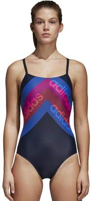 adidas Graphic Print Pool Swimsuit