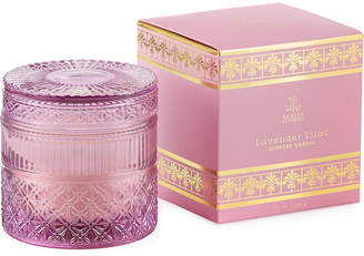 D.L. & Co. Lavender Lilac Crystal Candle