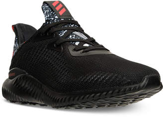 adidas Men's AlphaBounce Running Sneakers from Finish Line $99.99 thestylecure.com