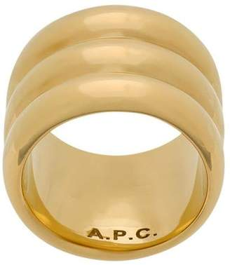 A.P.C. wide band ring