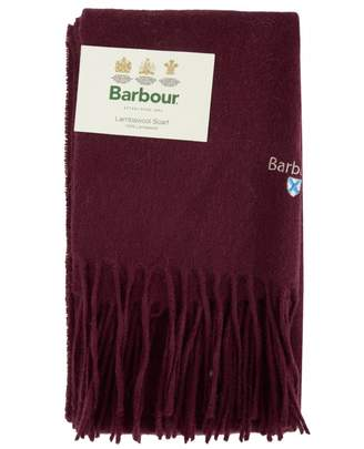 Barbour Plain Lambswool Scarf Colour: WINE, Size: One Size