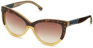 Diesel DL00515639N Cat-Eye Sunglasses