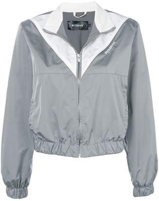 Misbhv two-tone zipped jacket