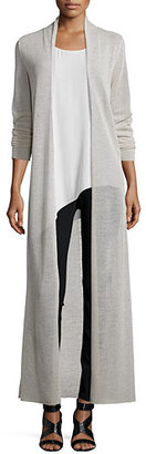 Eileen Fisher Washable Merino Wool Maxi Cardigan $298 thestylecure.com