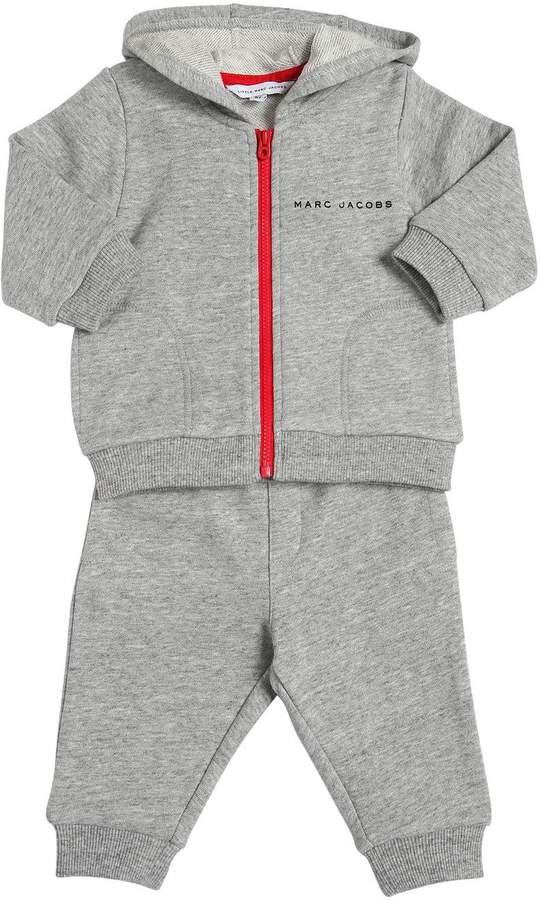 Cotton Hooded Sweatshirt & Sweatpants