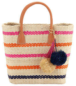 Hat Attack Small Provence Straw Tote Bag