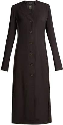 KWAIDAN EDITIONS Vallens raw-edge twill dress