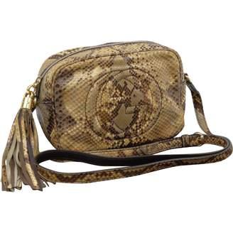 Gucci Soho Brown Exotic leathers Handbags