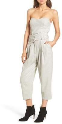 Line & Dot Wool Blend Bon Crop Pants