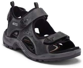 Ecco Offroad Marine Oil Leather Sandal