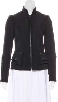 Magaschoni Long-Sleeve Casual Jacket