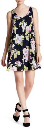 Soprano Floral Lattice Shift Dress $46 thestylecure.com