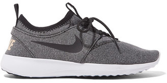 Nike - Juvenate Se Marled Mesh Sneakers - Gray $95 thestylecure.com