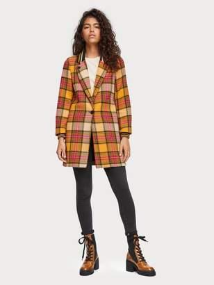Atelier Scotch\U0020\U0026\U0020soda Checked Wool Blend Coat