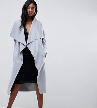 Missguided Tall waterfall coat