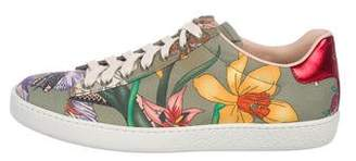 Gucci Flora Snake Ace Sneakers