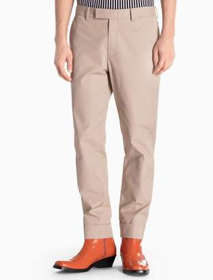 Calvin Klein wool woven cuffed pants
