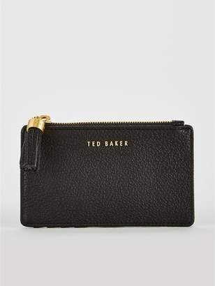 Ted Baker Sydnee Tassel Credit Card Holder - Black