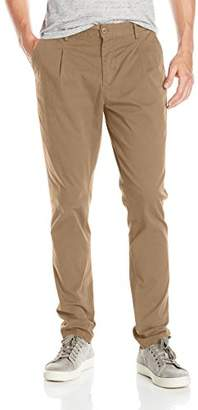 William Rast Men's Bedford Relaxed Fit Tapered Leg Chino Pant