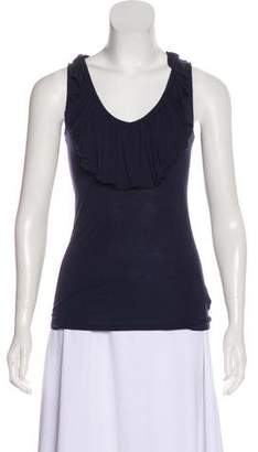 Juicy Couture Ruffle-Trimmed Sleeveless Top