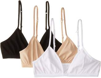 Fruit of the Loom Big Girls' CottonConvertible Bralette