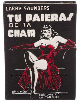 Olympia Le-Tan 2017 Tu Paieras De Ta Chair Clutch w/ Tags