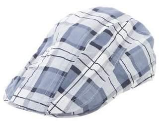 Appaman Fine Tailoring Plaid Newsboy Hat