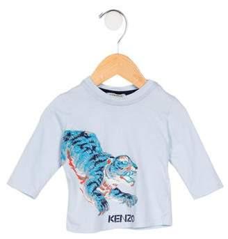 Kenzo Boys' Tiger Print T-Shirt